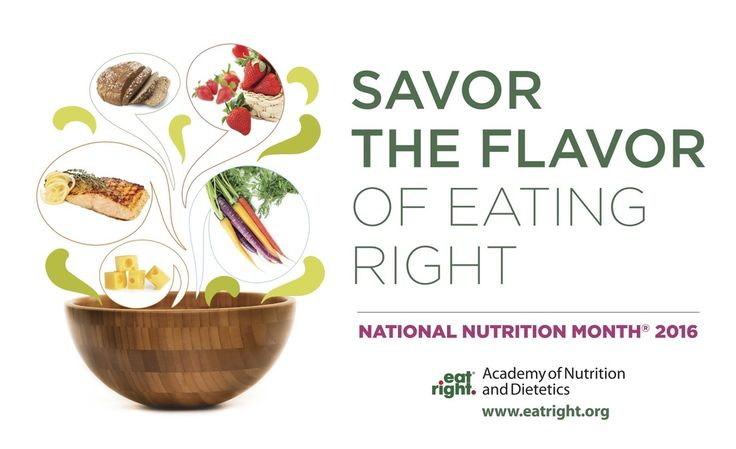 National Nutrition Month 2016 - Savor The Flavor — Emily Fonnesbeck, RD  How can you find balance between pleasure and nourishment?