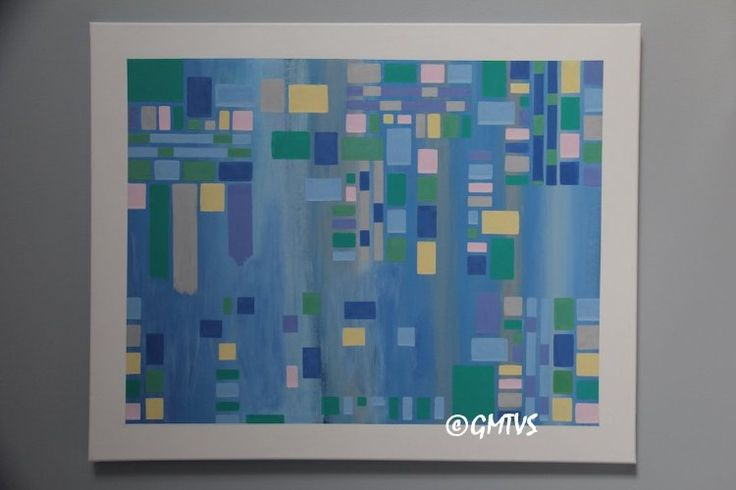 Painting and Texture: Acrylic Painting: January - Contemporary Painting