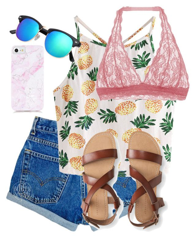 What Should I Wear Today? by madisoncorell on Polyvore featuring polyvore fashion style WithChic Cosabella Aéropostale clothing