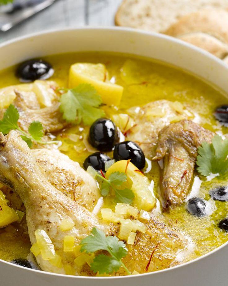 Tajine met kip en citroen - Heerlijke klassieker uit de Marrokaanse keuken #15gram