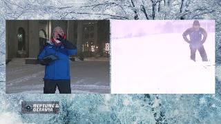 Thundersnow Excites Jim Cantore