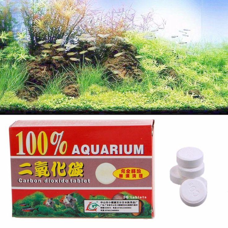 1.68$  Watch now - 1 Box 36pcs Aquarium CO2 Carbon Dioxide Tablets For Plants Aquarium Fish Tank Diffuser Plant Aquario Accessory   #buyonlinewebsite