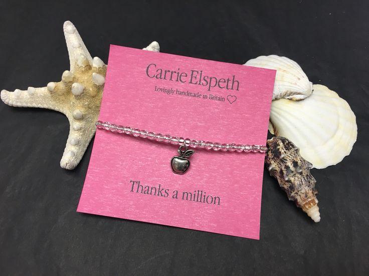 Lovely thank you teacher gift idea from Carrie Elspeth.