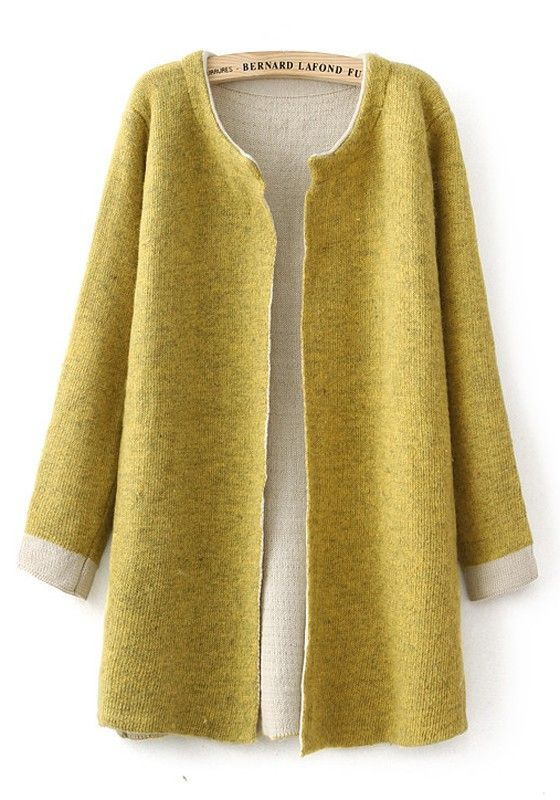 Ginger Plain Long Sleeve Cardigan