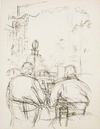 Lithograph - Alberto Giacometti - Paris sans fin- illustration 62