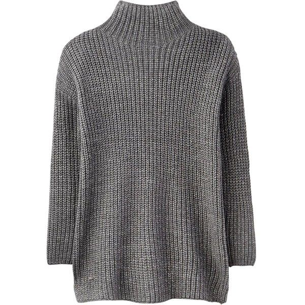Joules Prunella Funnel Neck Sweater ($125) ❤ liked on Polyvore featuring tops, sweaters, funnel sweater, loose fitting sweaters, loose sweater, raglan sleeve top and loose fit tops