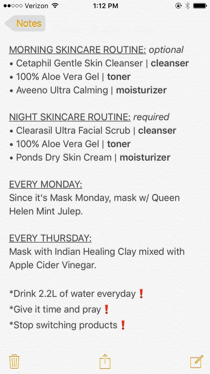 UPDATED SKINCARE ROUTINE! If you like what you see, follow me at badgyalting feel free to post your skincare routine!