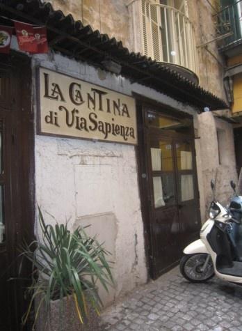 Cantina di via sapienza - Napoli
