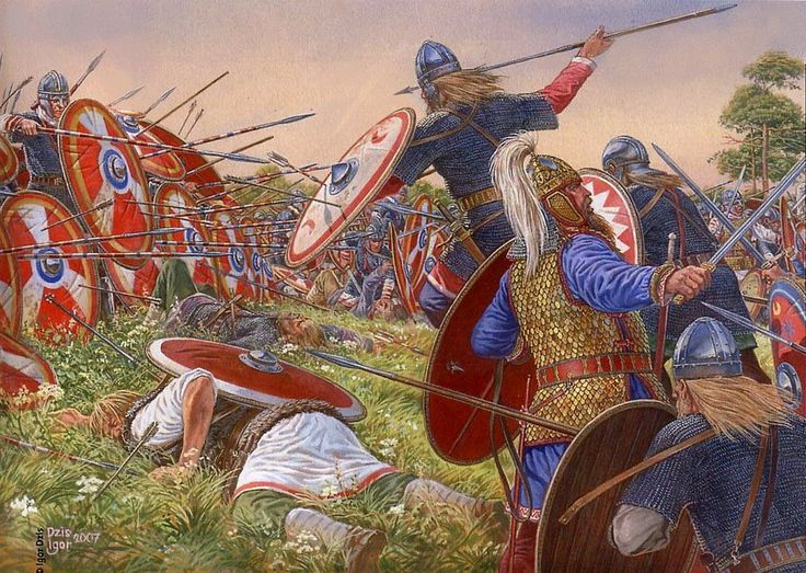 Batalla de Estrasburgo.