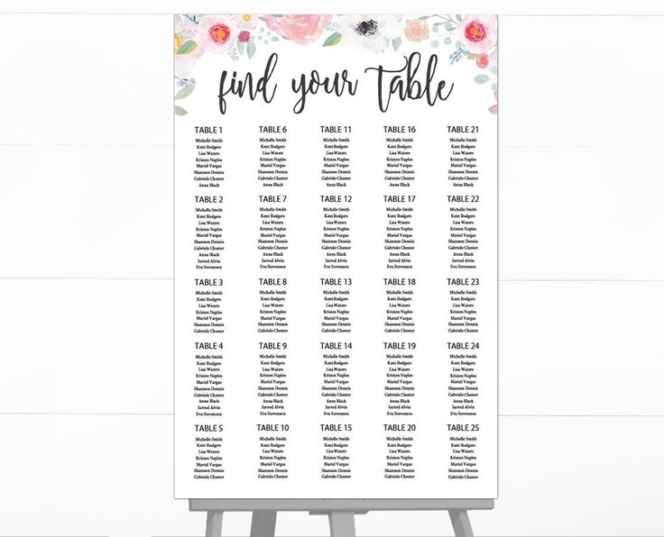21 best Wedding Seating Chart images on Pinterest Wedding - free wedding seating chart templates