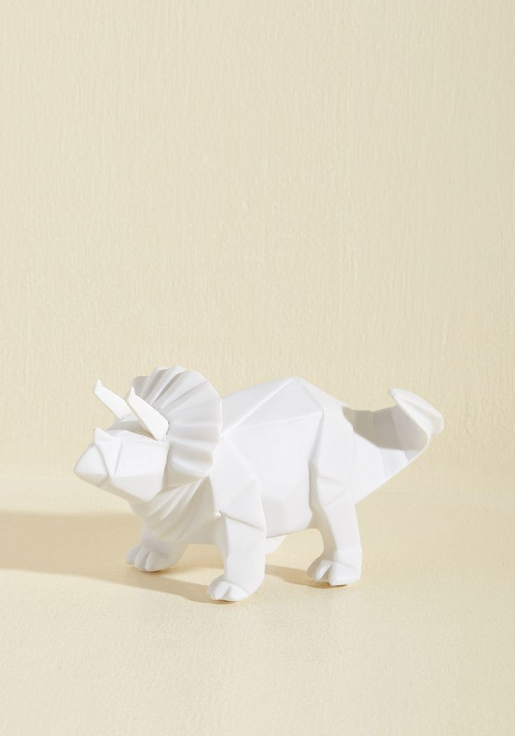 Dino for a Fact Night Light in Triceratops | ModCloth