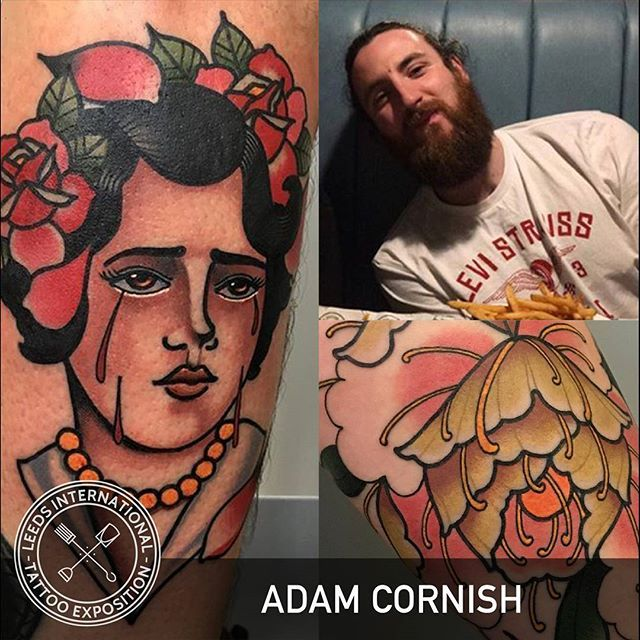 WEBSTA @leedstattooexpo Adam Cornish @adamcornishtattooer  will be joining us at Leeds Tattoo Expo 2018!! To be held at @firstdirectarena on 7th and 8th July - tickets available now from Ticket Arena and Ultimate Skin in Leeds city centre.  https://www.ticketarena.co.uk/festivals/leeds-international-tattoo-exposition