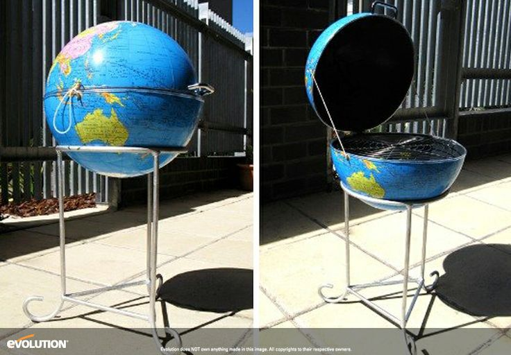 Inspired Upcycled BBQ