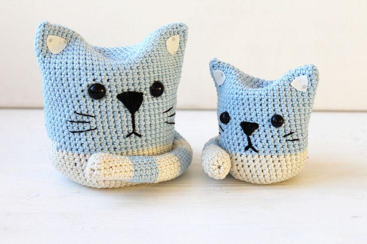DIY: Katze (Amigurumi   Gehäkelt   Anfänger) › Schön und fein