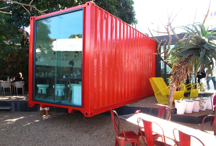 Freedom Cafe... in a container!