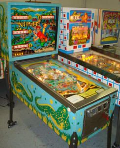 nip it pinball machine for sale