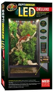 """Zoo Med ReptiBreeze LED Deluxe Screen Cage (16""""""""x16""""""""30"""""""")"""