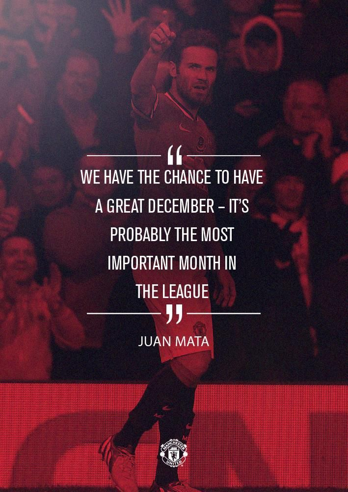 """.@JuanMata8 wants #mufc's winning momentum to continue vs Southampton going into the busy festive period..."""