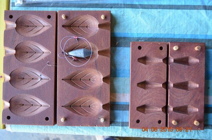 Fishing weight mould