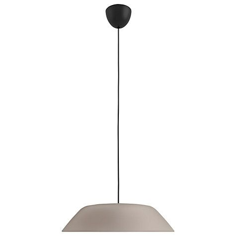 Buy Philips myLiving Fado LED Pendant Light, Grey Online at johnlewis.com