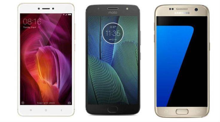 Flipkart Amazon deals on Xiaomi Redmi Note 4 Moto G5 Plus Samsung Galaxy S7 edge and https://t.co/tCqxayfvXl