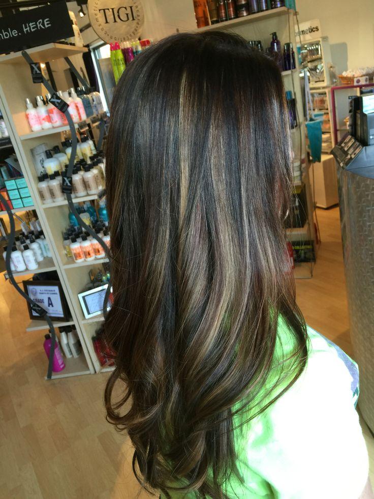 Best 25+ Dark hair with lowlights ideas on Pinterest ...