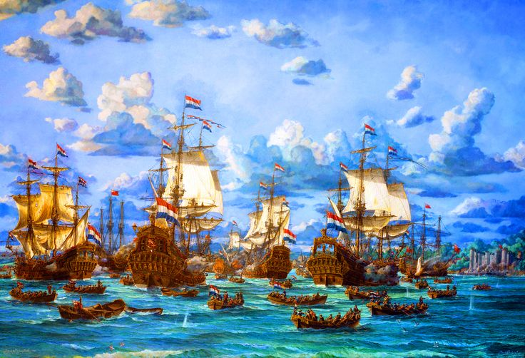 The Raid on the River Medway 1667, Anglo-Dutch War