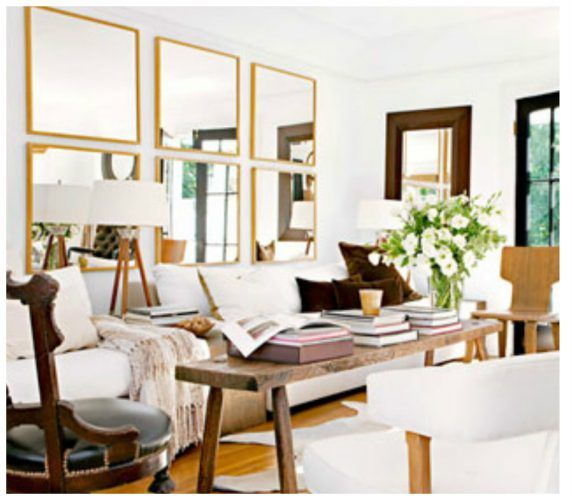 How to decorate your home with stunning mirrors