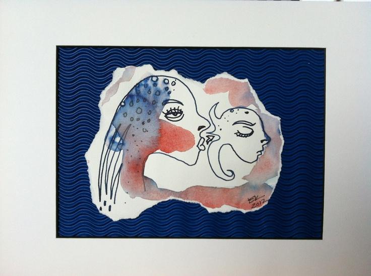 The Ugly Kiss by Elisabeth Kitzing, Gothenburg Sweden