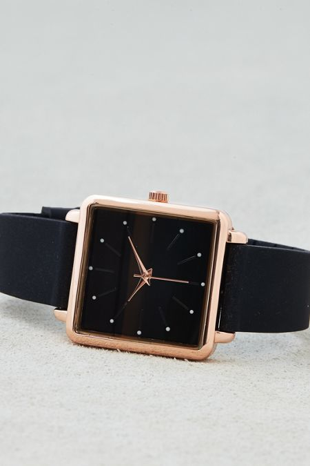American Eagle Outfitters AE Square Face Rubber Watch (affiliate)