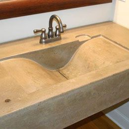 New orleans, Concrete countertops and Countertops on Pinterest