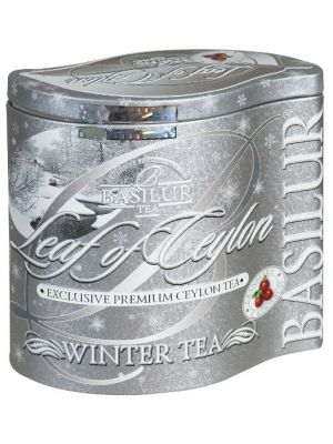 Herbata aromatyzowana o silnym owocowym zapachu. Stanowi mieszankę wyśmienitej czarnej cejlońskiej herbaty z domieszką owoców żurawiny. Żurawina jest niskokaloryczna, bogata w błonnik i witaminę C. Zdobiona i wytłaczana puszka stanowi doskonały prezent dla bliskiej nam osoby.