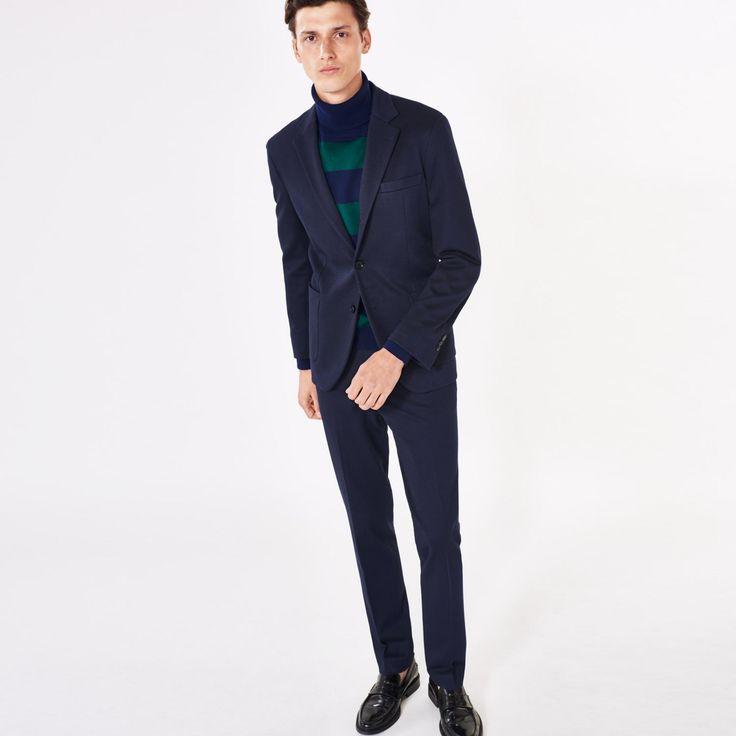 GANT Diamond G: Blue Jersey Travel Blazer Men's | GANT USA Store