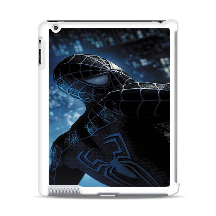 BLACK SPIDER-MAN MOTIF iPad Case