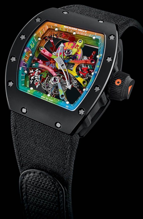Richard Mille RM68-01 - graffiti by Cyril Kongo - Perpetuelle