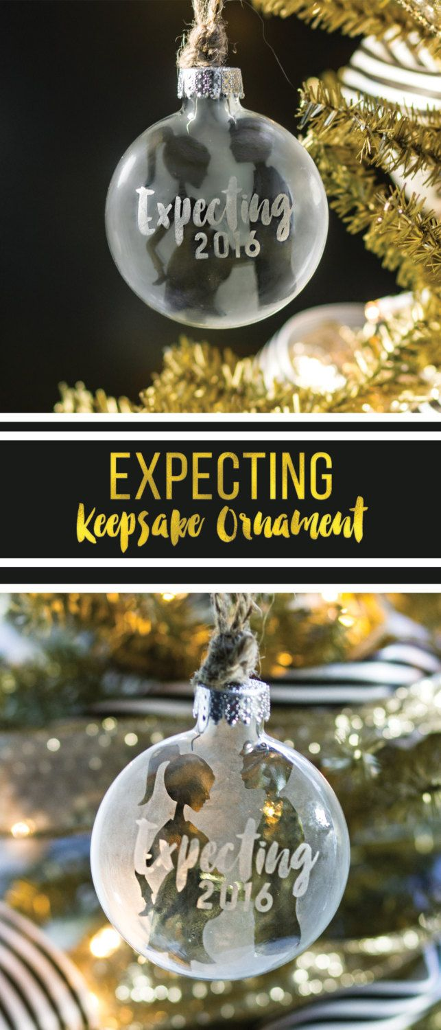 We Are Expecting Christmas Ornament, Expecting Ornament, Expecting Baby…