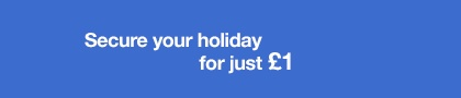 Late bookings. Direct Savings!  Tailor your holiday to suit you