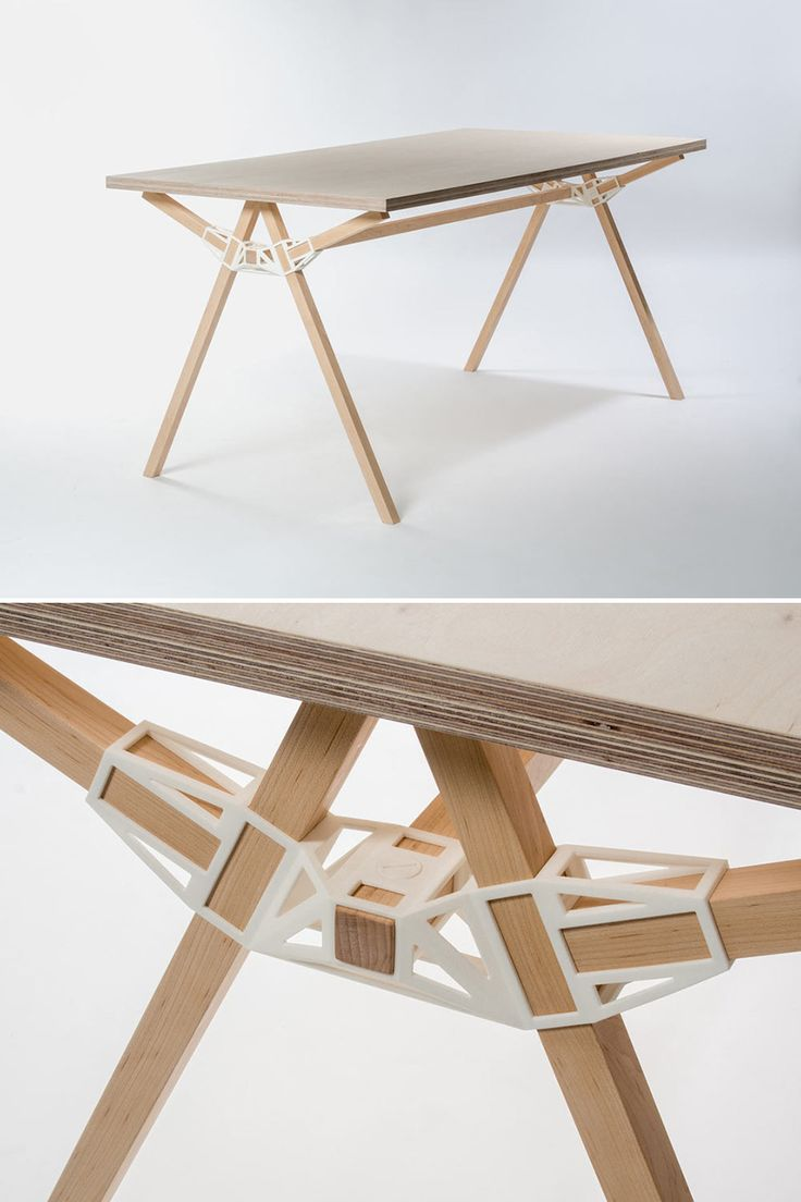 Ikea & Minale-Maeda, Yielding Partially-Downloadable and 3D-Printable Furniture Designs