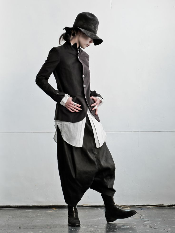 WOMEN DESIGNER :: NostraSantissima :: 15SS :: NostraSantissima リネンコットンジャケット BLACK