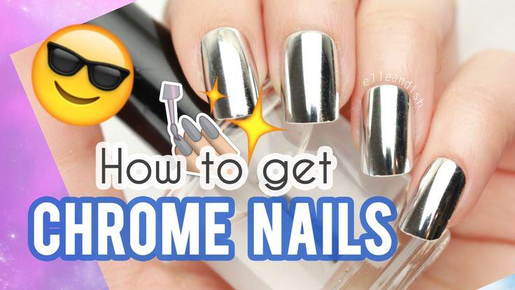 Como obtener unas uñas cromadas - http://xn--decorandouas-jhb.net/como-obtener-unas-unas-cromadas/