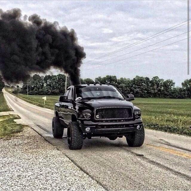 Cummings Dodge Ram Smoke
