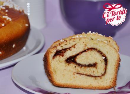Colazione carica di gusto ed energia? Ecco la #Ciambella brioche alla crema di nocciole.  Clicca e scopri la ricetta...