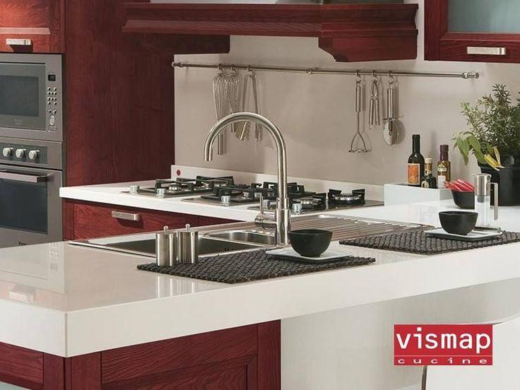 17 migliori idee su piano cucina in legno su pinterest - Hpl piano cucina ...