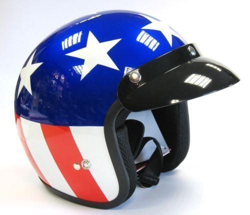 Casque-Moto-VIPER-RS-04-Ouvert-Scooter-Retro-Usa-EASY-Rider
