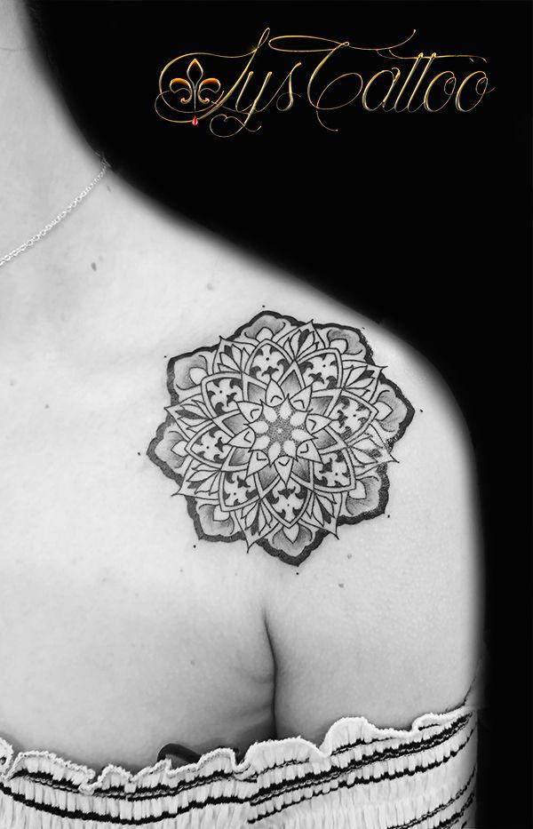 254 best tatouages tattoos by images on pinterest - Tatouage mandala epaule ...