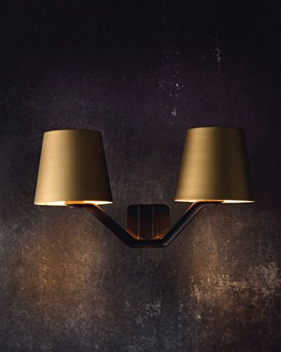 Home I Interior I Furniture I Wandleuchte I Messing I Base Wall Lighting by Tom Dixon