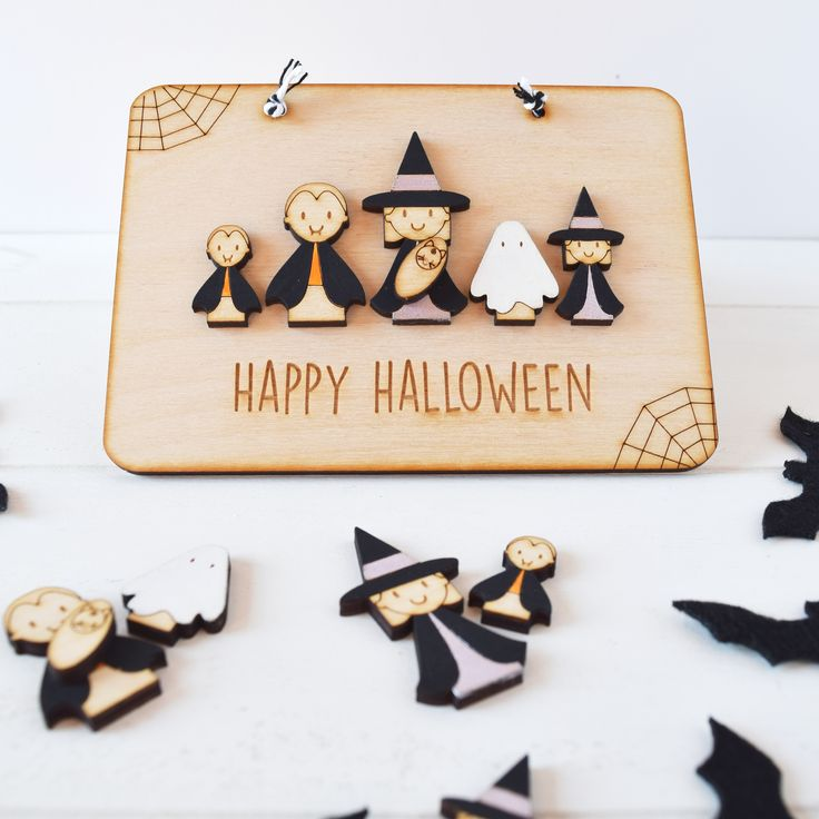 Halloween Plaque by Just Toppers