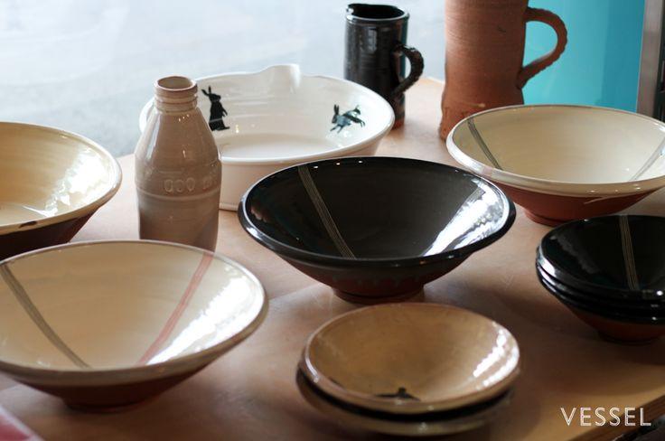 Bowls by NZ potter Paul Maseyk
