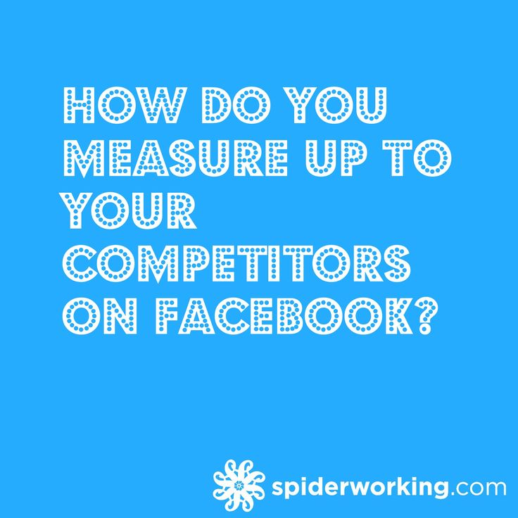 Have you ever wondered how your page compares to those of your competitors on Facebook? You may not be able to see how many people view their posts or how much money they spend on advertising you can see some headline stats using the 'Pages to watch' feature in Facebook insights.