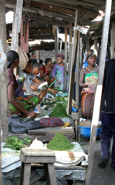 Brazzaville - the market place by andreea_gerendy, via Flickr